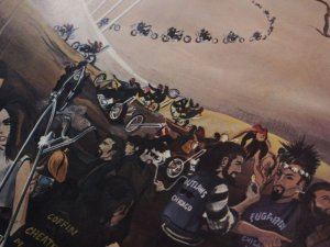 "画像3: David Mann / Ed Roth / ""Bike Heaven"""