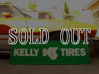 Vintage Kelly Tires Sign