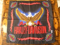 Harley Davidson#2/デッドストックバンダナ
