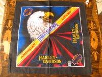 Harley Davidson/デッドストックバンダナ