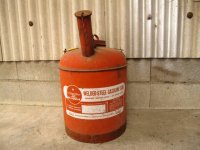 Eagle/Welded Steel Gasoline cans