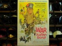 War Italian Style/オリジナルポスター