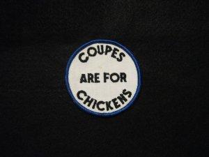 画像1: Coupes are for chickens /blue/black