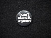I can't stand it anymore/Black