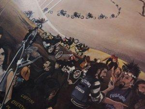 """画像3: David Mann / Ed Roth / """"Bike Heaven"""""""
