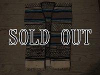 Vintage Mexican rug Vest 3