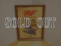 Miller Lite Beer/鹿 パブミラー