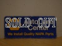 Napa Autoshop Metal Sign
