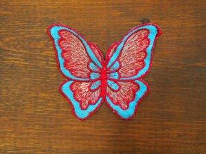 画像1: Butterfly/Blue