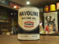 Texaco/Havoline/オイル缶