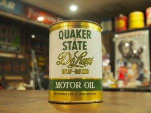画像1: Quaker State/Deluxe/オイル缶