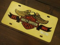 Harley Davidson/License Plate