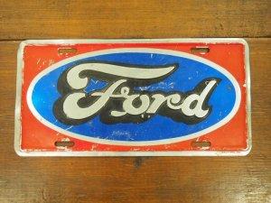 画像1: FORD/licens plate