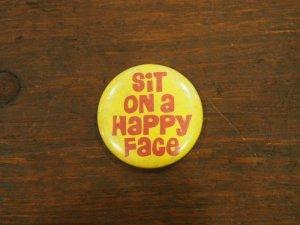 画像1: Sit on a Happy Face/yellow/red