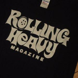 画像2: rollingheavy magazine/logo Tshirts