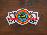 Hot Rod Magazine/Decal