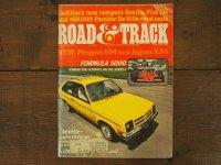 vintage Road&Track 1975年10月