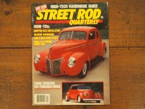 画像1: vintage Street Rod Quaterly 1984年
