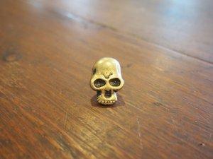 画像1: Skull/Gold/BIG
