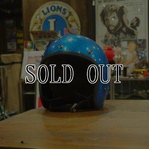 画像1: 70s Vintage  Helmet/Blue