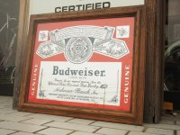 Budweiser/パブミラー